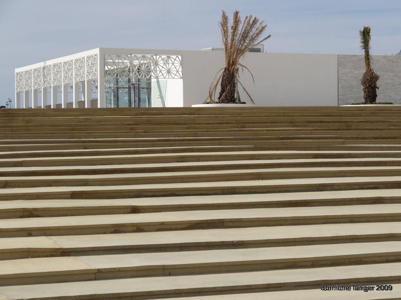 L'aménagement de la corniche à Tanger (4 photos à cliquer)