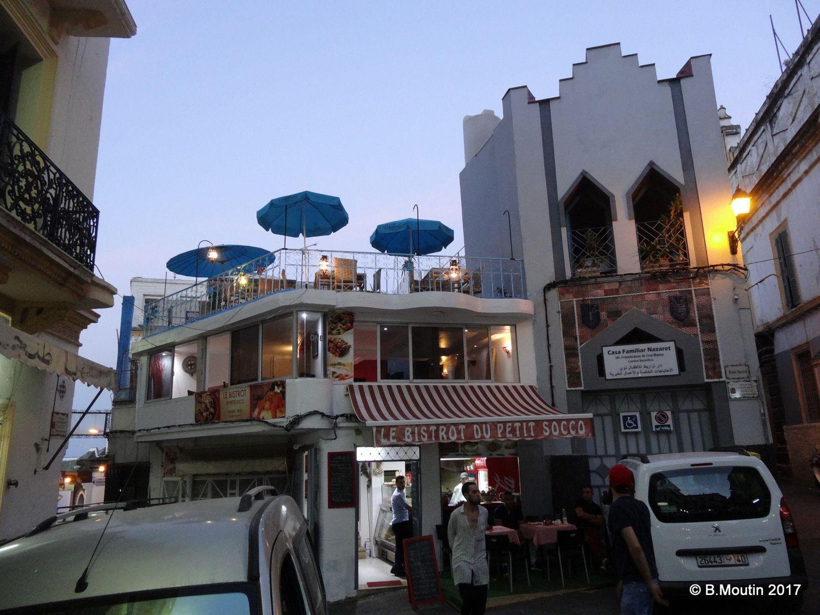 Le Bistrot du Petit Socco à Tanger a aménagé une nouvelle terrasse supérieure