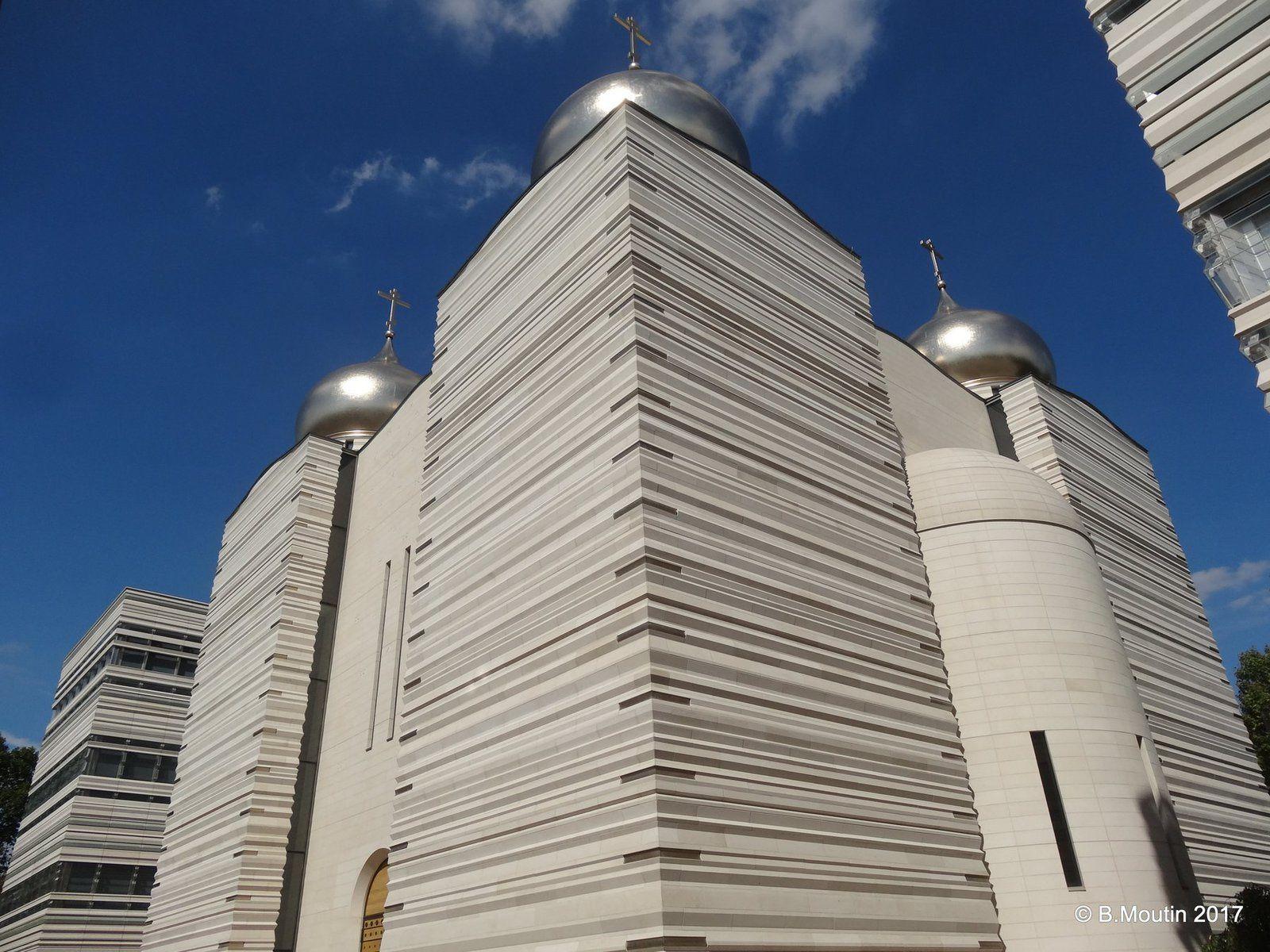 La nouvelle Cathédrale orthodoxe de Paris (Wilmotte architecte)