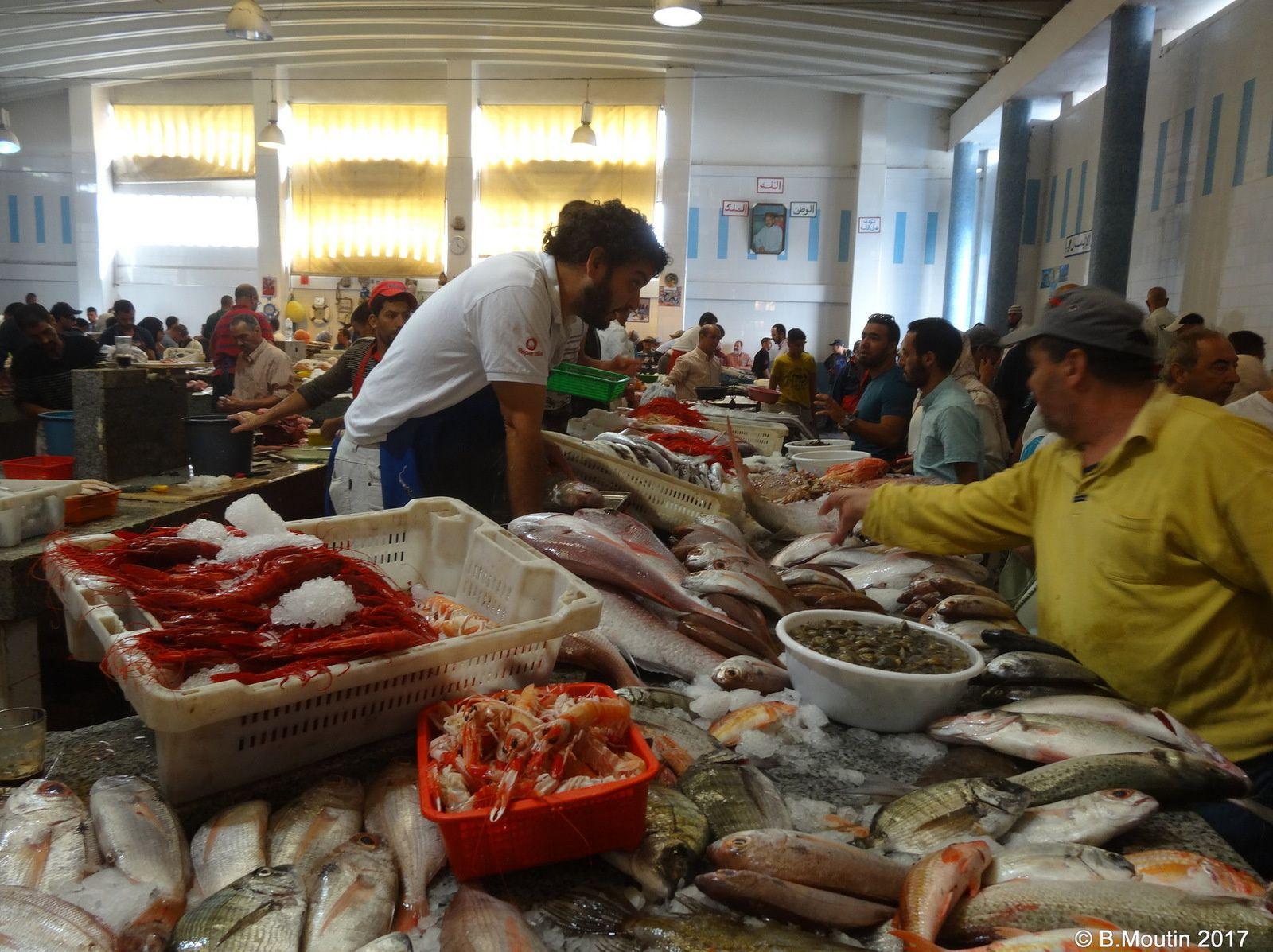 Le marché aux poissons de Tanger (4 photos)