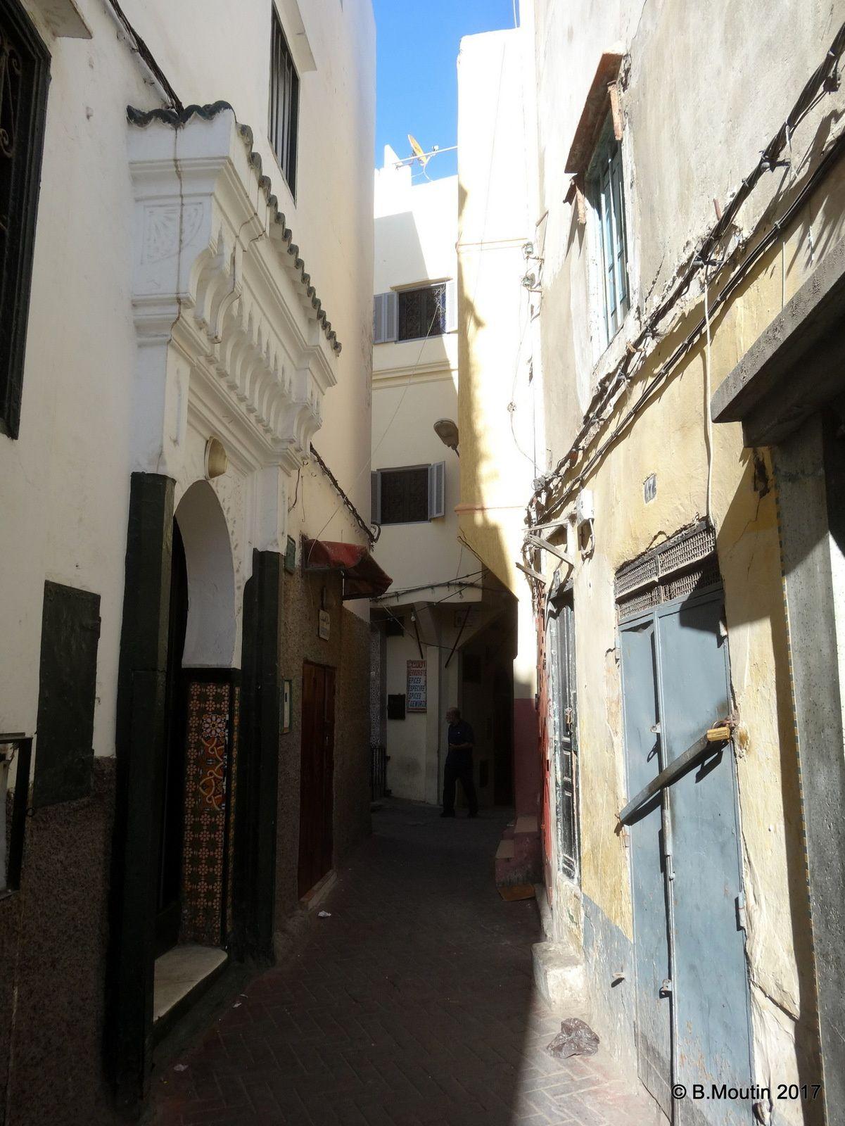 Lumière dans la Médina de Tanger