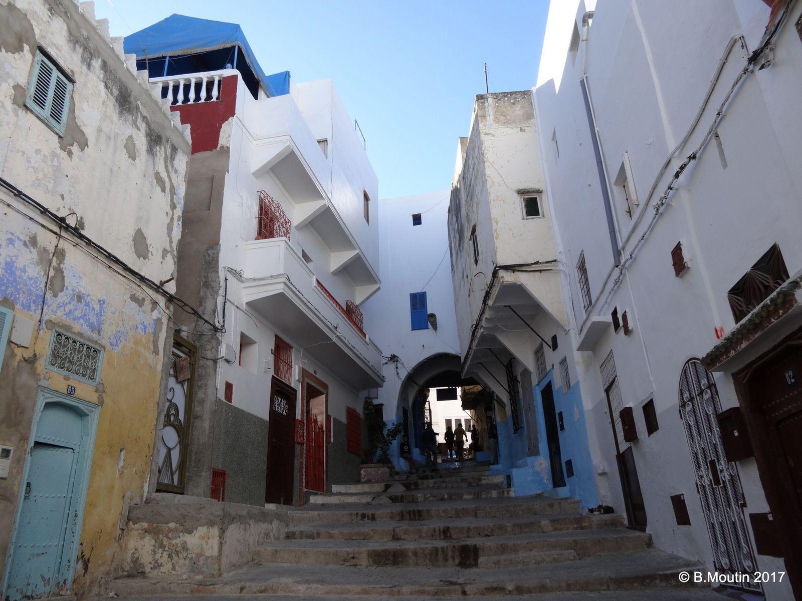 Couleurs de la Médina de Tanger (5 photos)