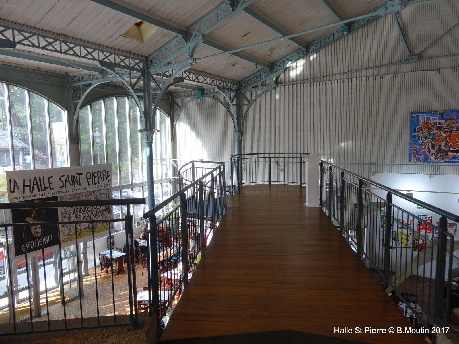 La Halle St Pierre à Paris : une visite s'impose (6 photos à cliquer)