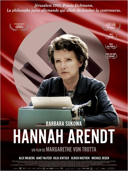 Intervention sur le film Hannah Arendt