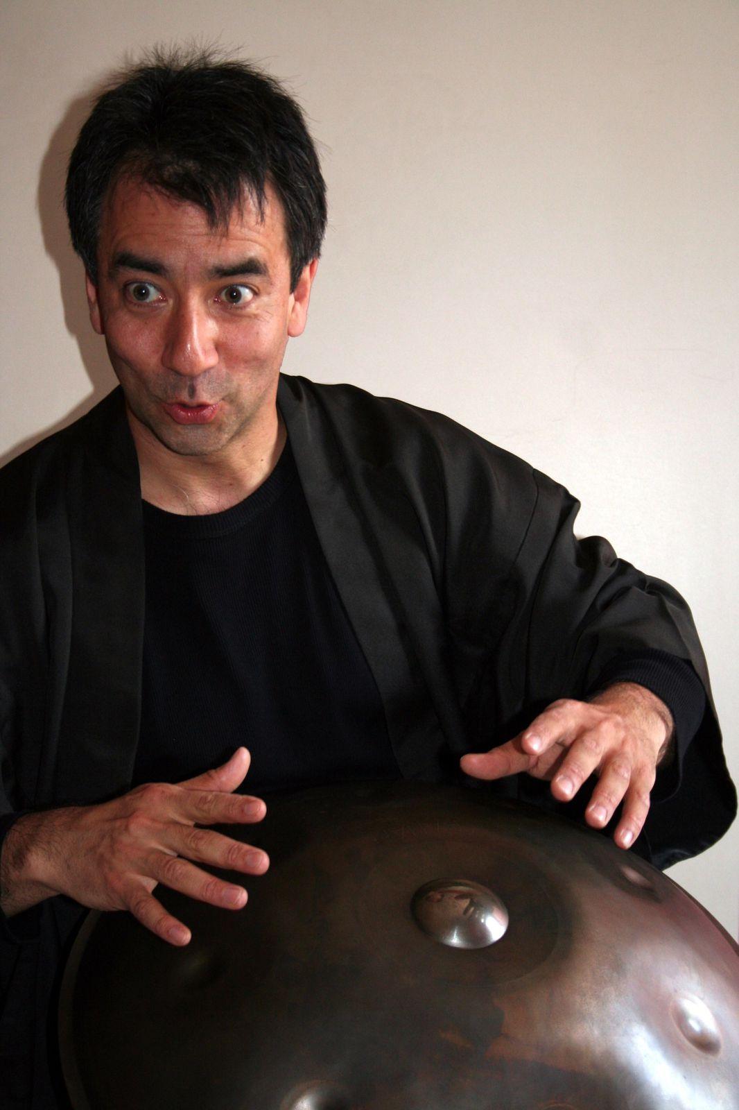 """""""Contes et légendes du Japon"""" par Pascal Mitsuru Guéran (Belgique et Japon) - Crédit photo : Christiane Olivier"""