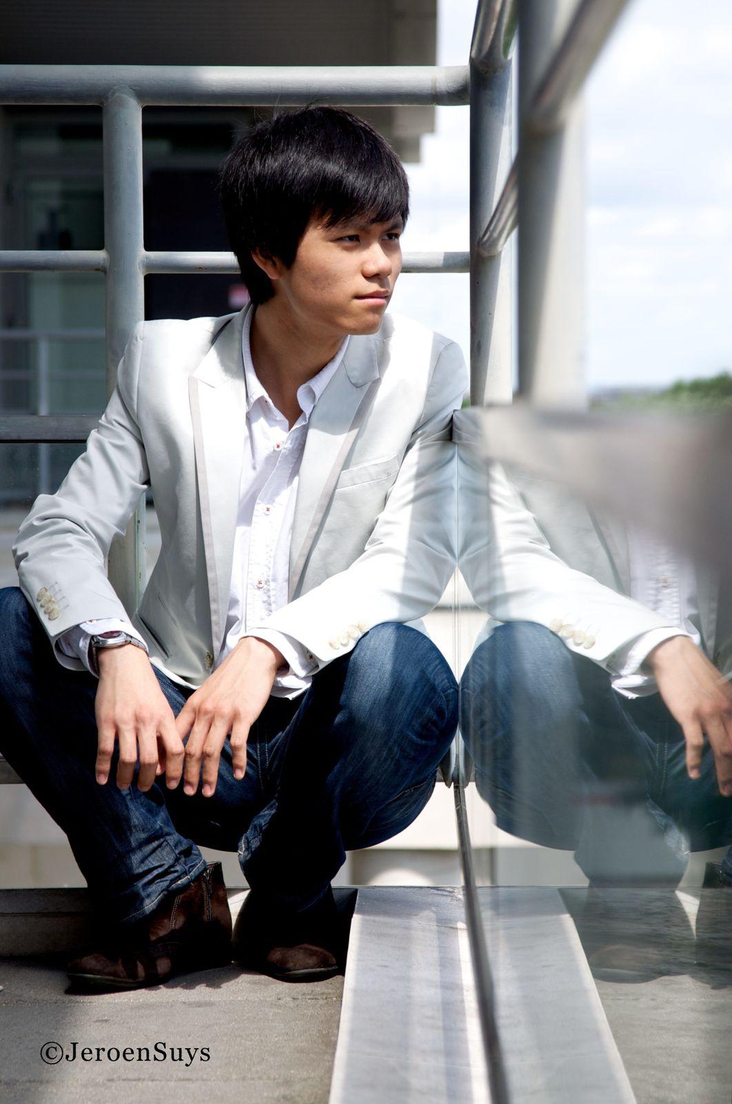Chi-Li, violoniste - Crédit : Jeroen Suys
