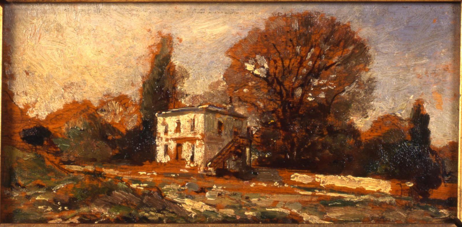 Maison dans les arbres de Français-Nicolas Chifflart
