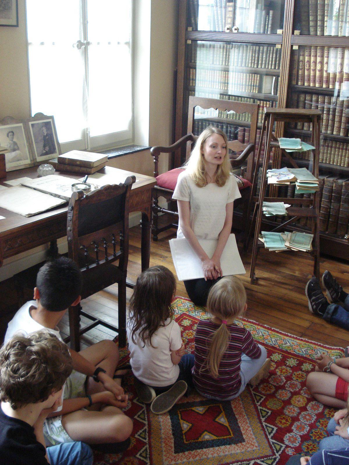 Visites ludiques de la maison historique - Crédits Conseil Général de la Moselle