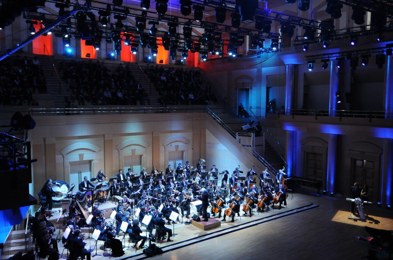 L'Orchestre national de Lorraine dans la Grande salle de l'Arsenal