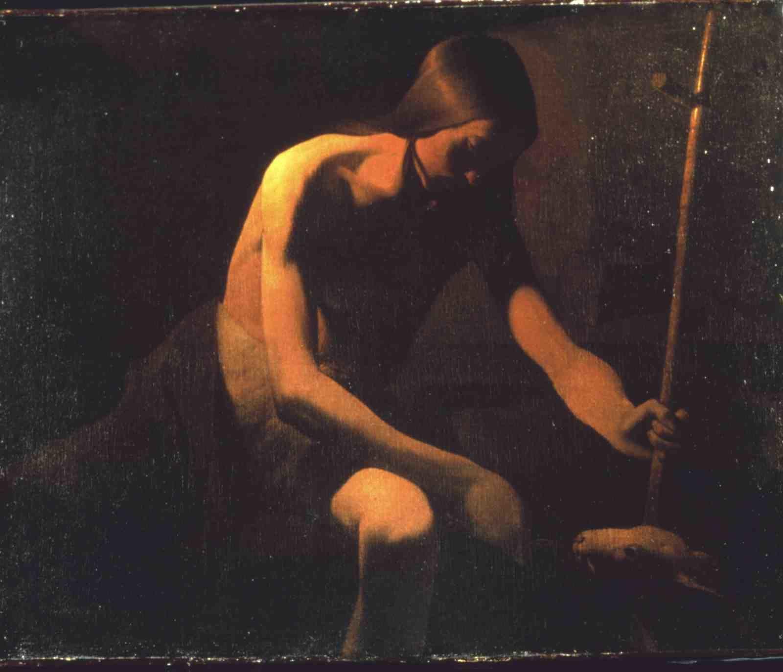 Saint Jean-Baptiste dans le désert © Département de la Moselle, Musée départemental Georges de La Tour