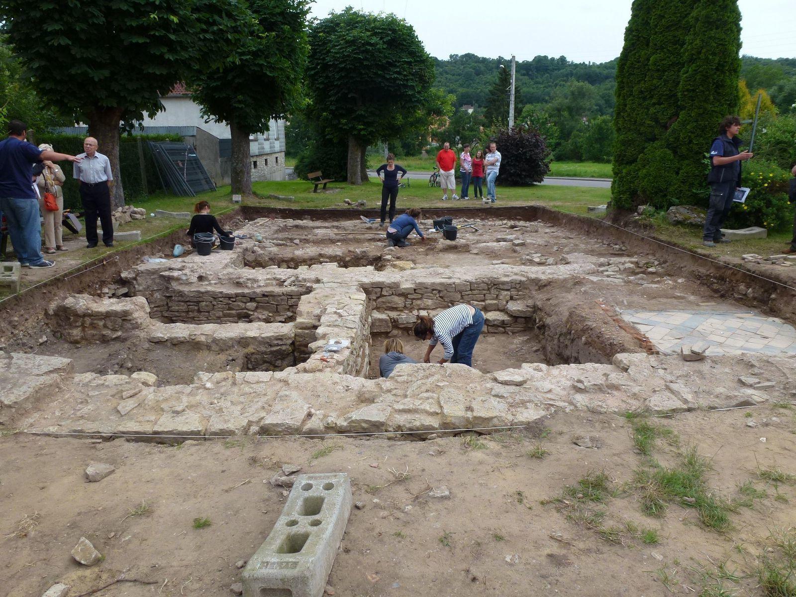 Le temps d'un week-end, le Conseil Départemental de la Moselle propose au public de découvrir le métier d'archéologue au Parc Archéologique Européen de Bliesbruck-Reinheim