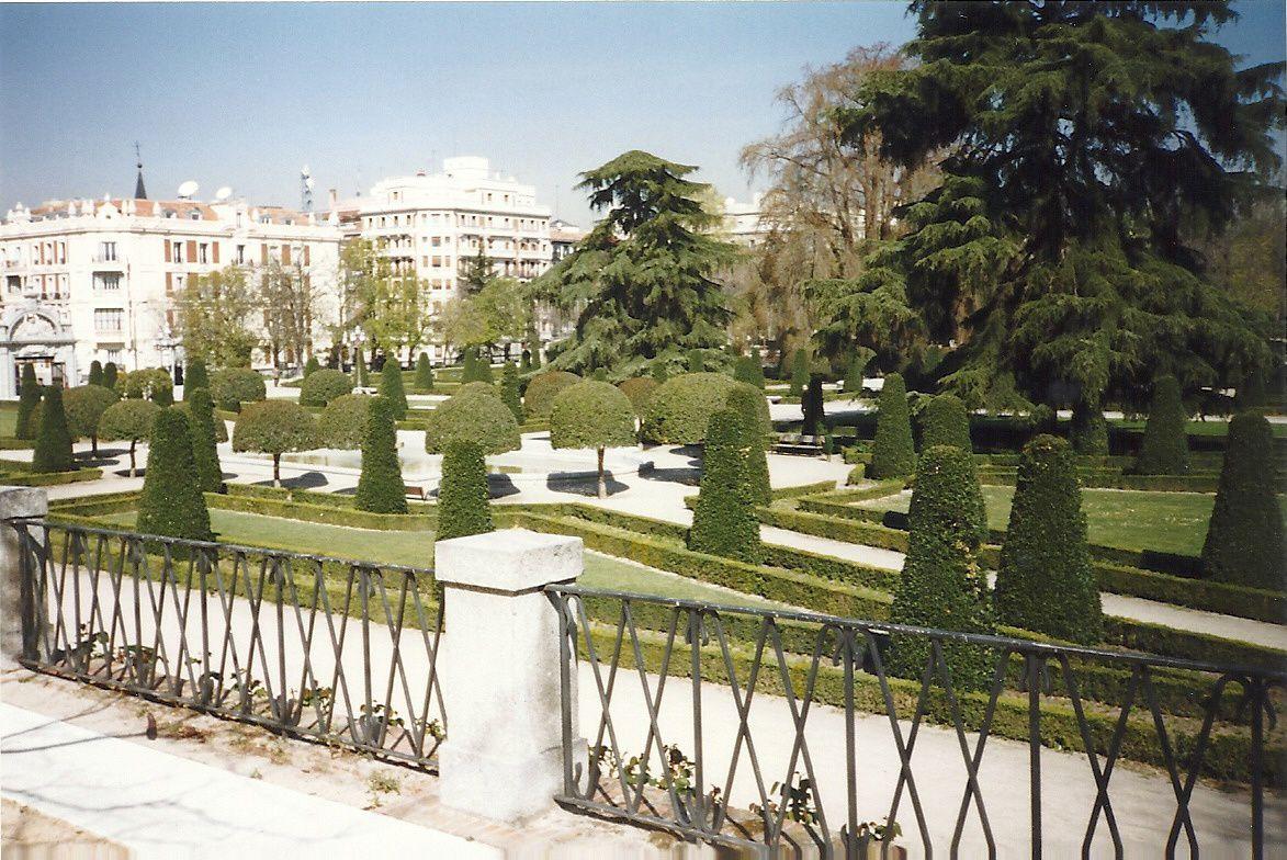 Parc du Retiro, Madrid.