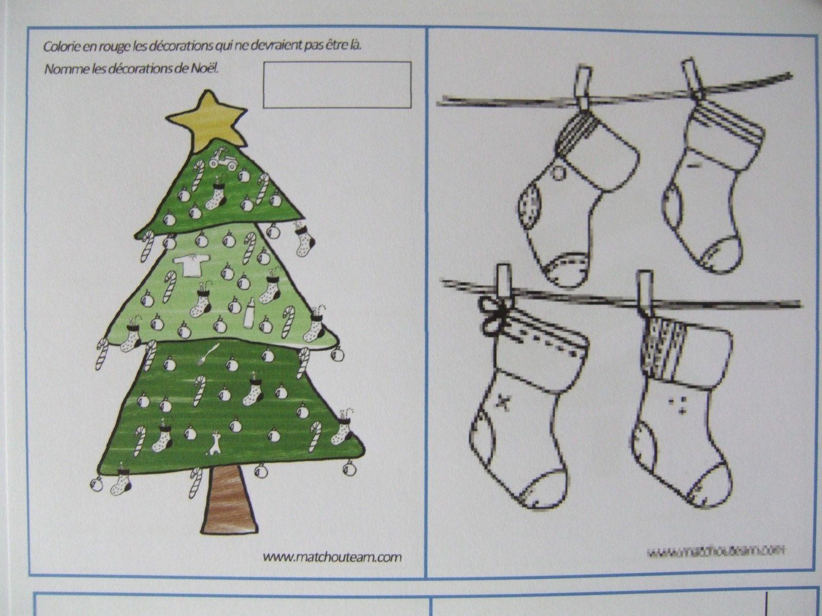 Fiches d'activités et idées pour préparer Noël