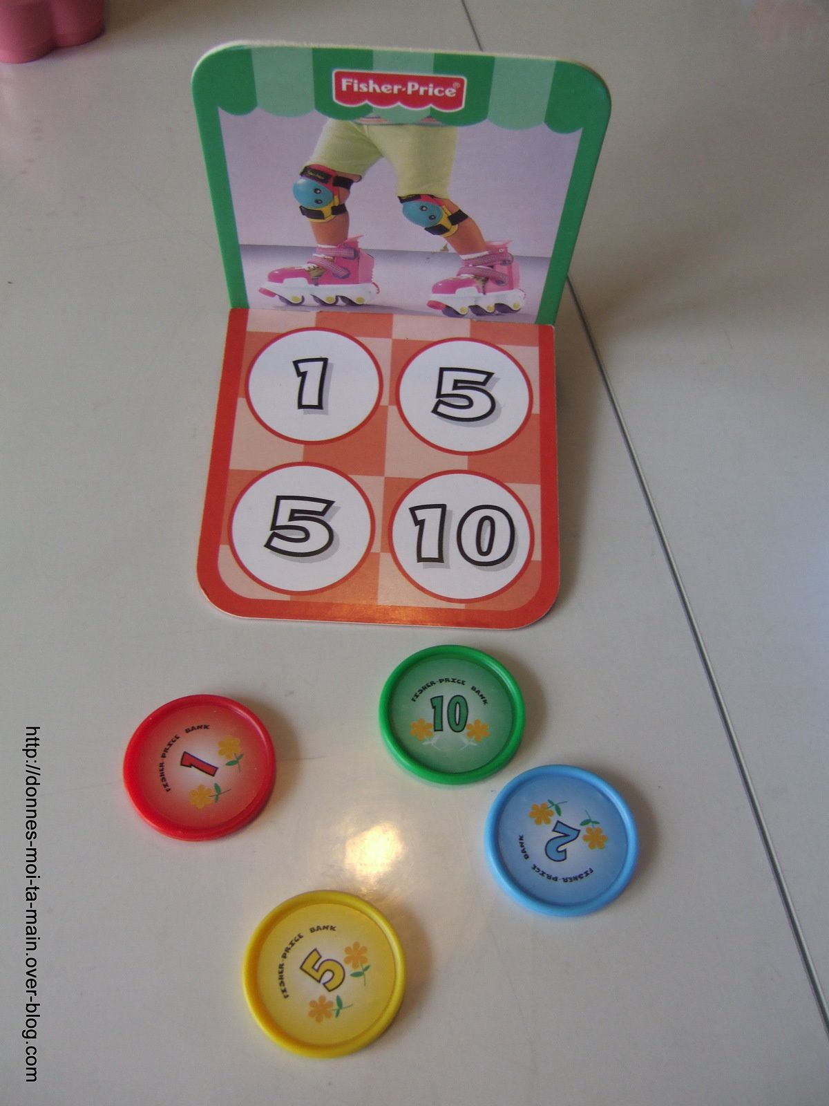 Les magasins : premiers jeux de plateau