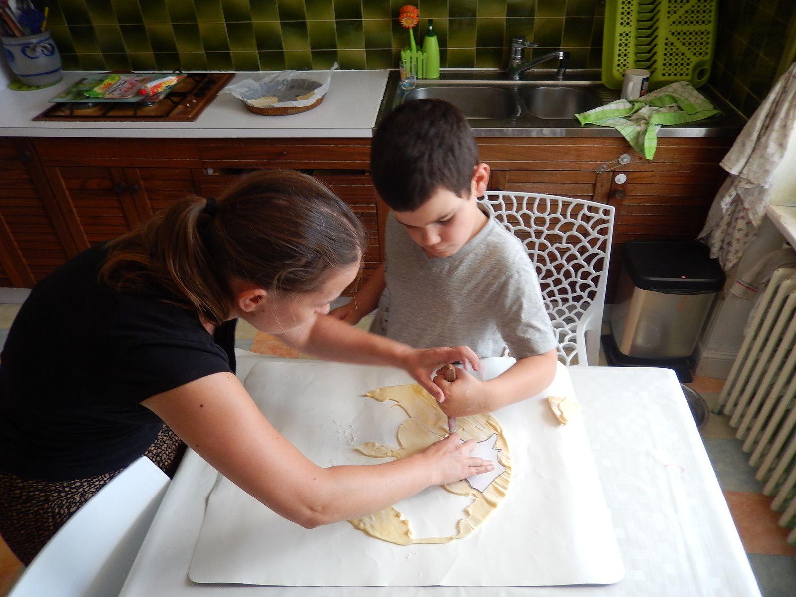 atelier cuisine avec notre intervenante!