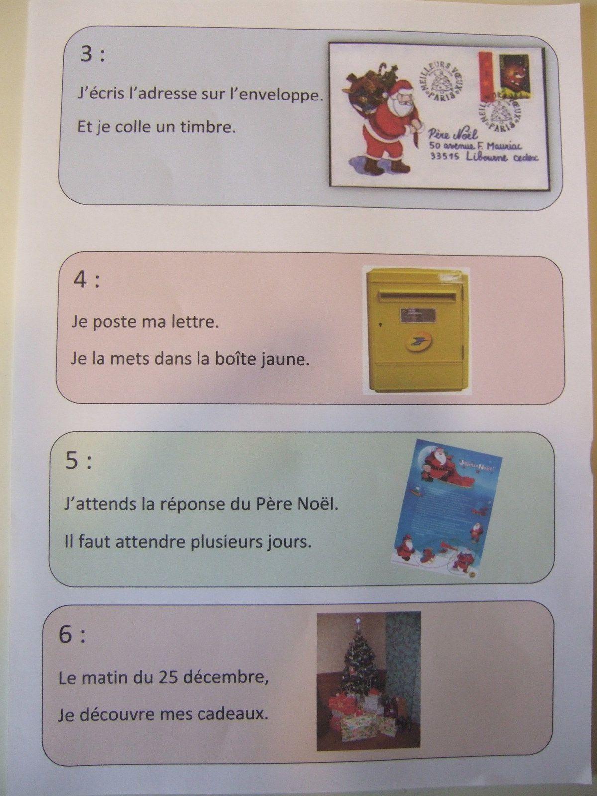 Ecrire une lettre au Père Noël