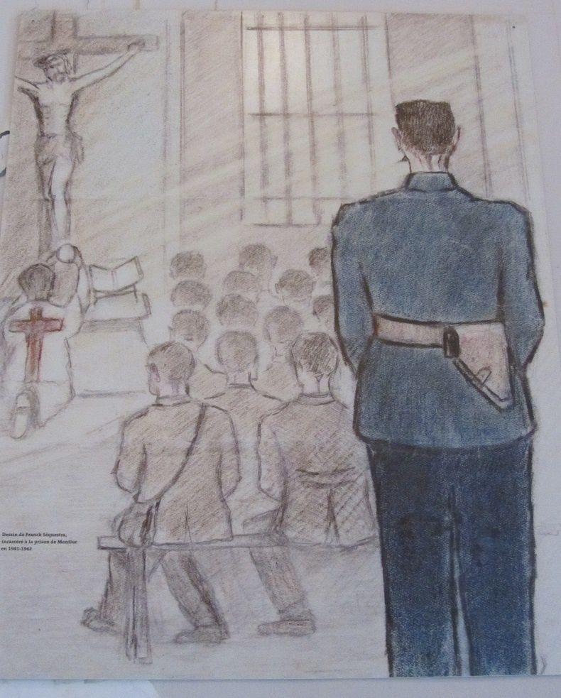 La messe dans le réfectoire.