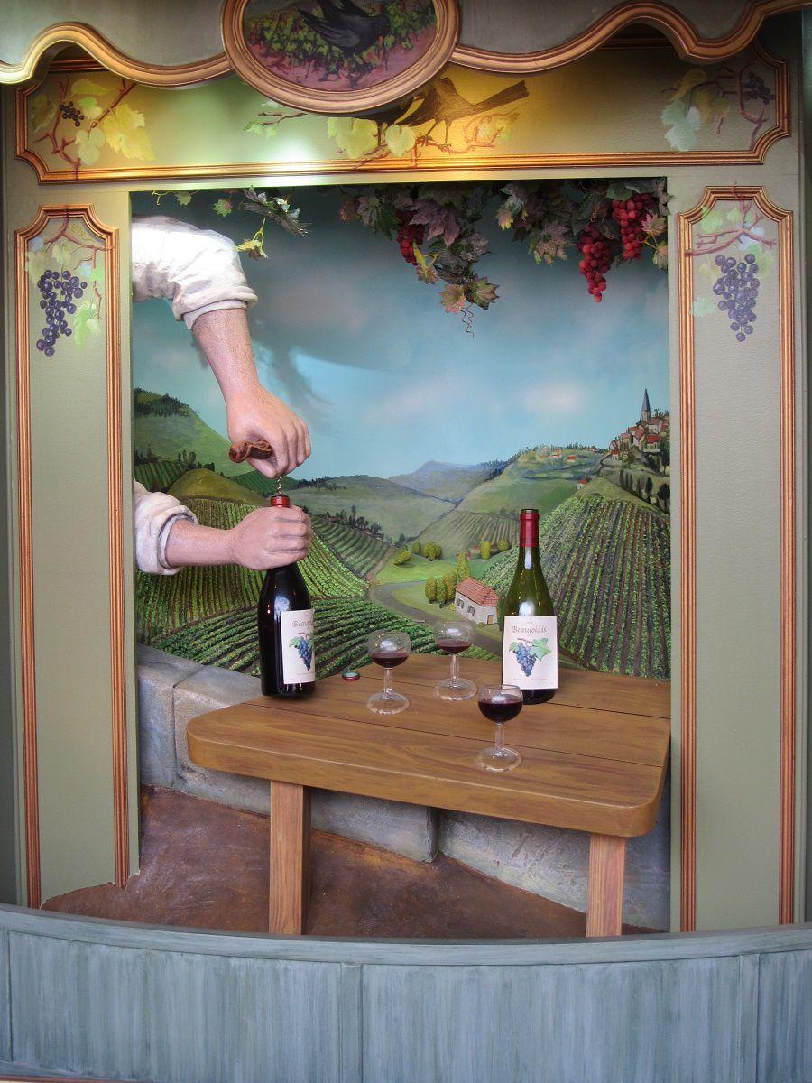 Mais comme on est en Beaujolais, tout finit par du vin et des chansons