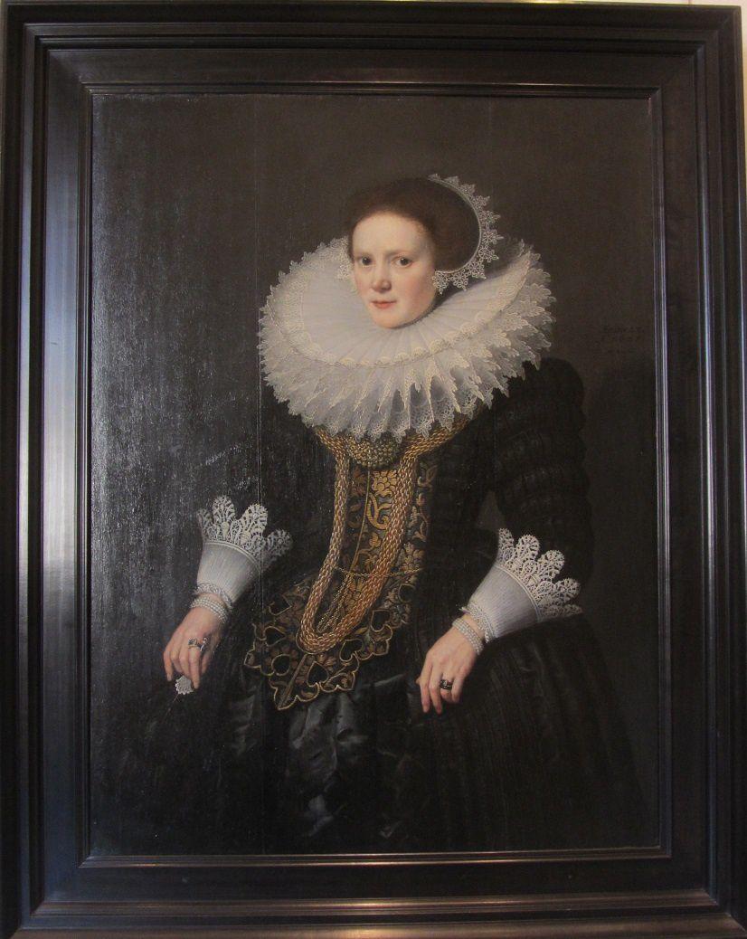 Portrait de femme de Michiel jansz Van Miereveld, Delft 1625