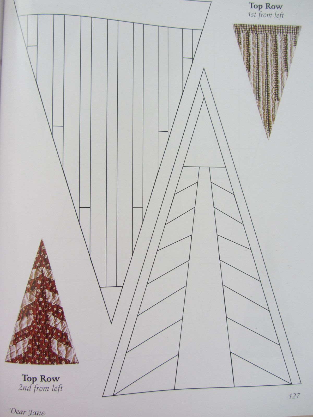 Dear-Jane triangles de bordure 1
