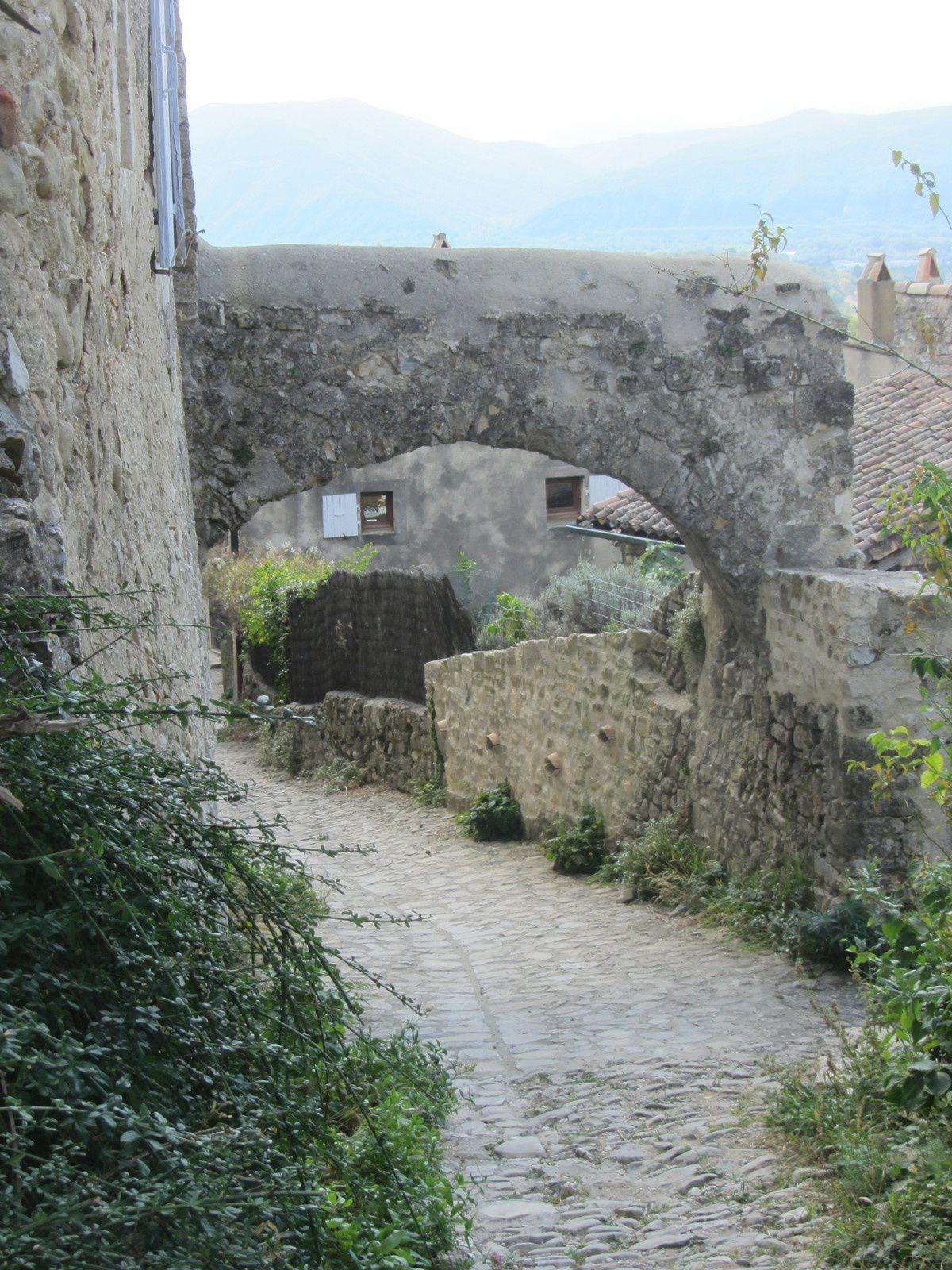 En 1998 Mirmande est admis dans l'association des Plus Beaux Villages de France. Et moi , je pense que c'est largement mérité !!