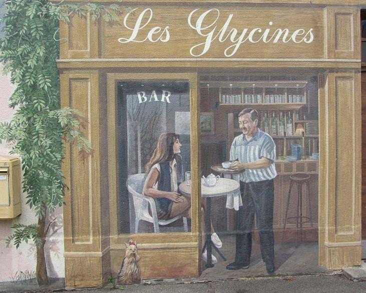 Dans la banlieu de Lyon, encore un joli mur peint.