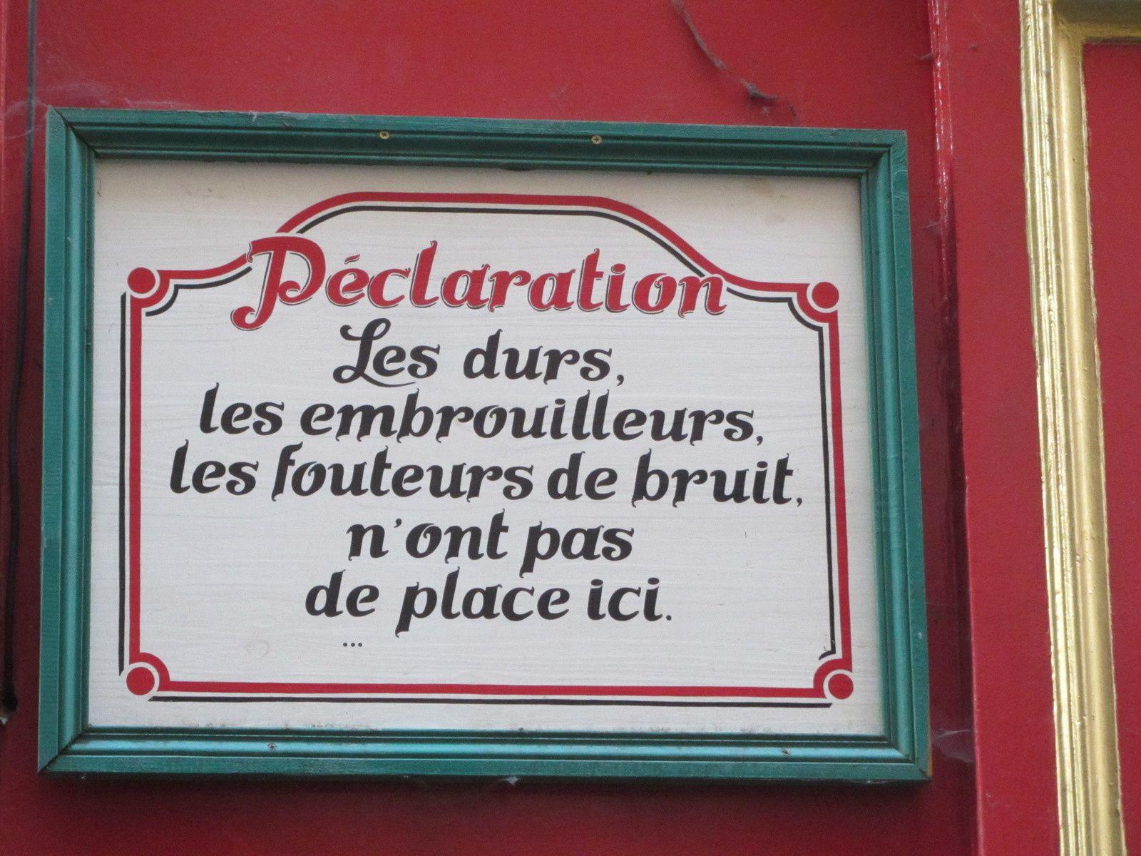 Décidément les Lyonnais sont très attachés à leur tranquilité.