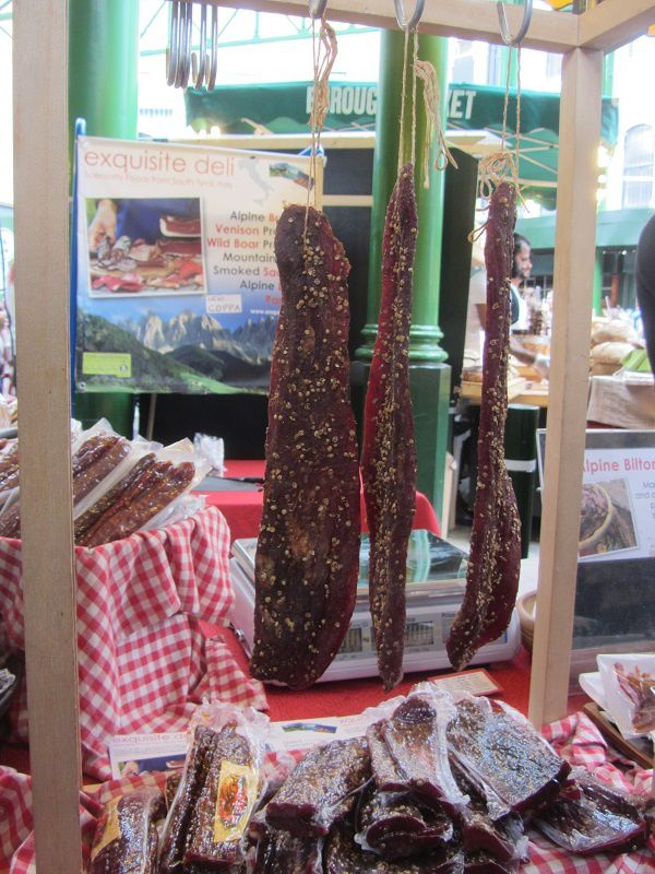 Et nous avons goûté au biltong qui est une viande séchée très appréciée des sud-Africains !
