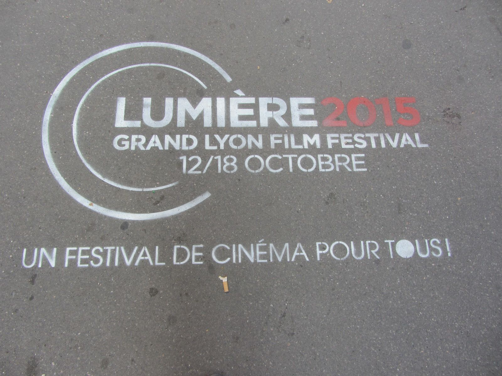 Avec un peu de retard je voulais vous parler du festival Lumière dont c'était la 7 éme édition.