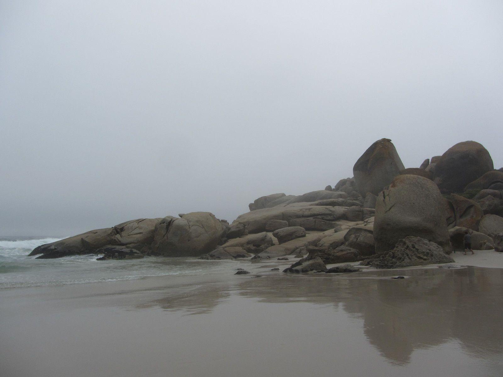 La plage près de Hout Bay