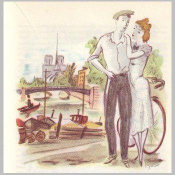 Image prise dans un vieux livre.....