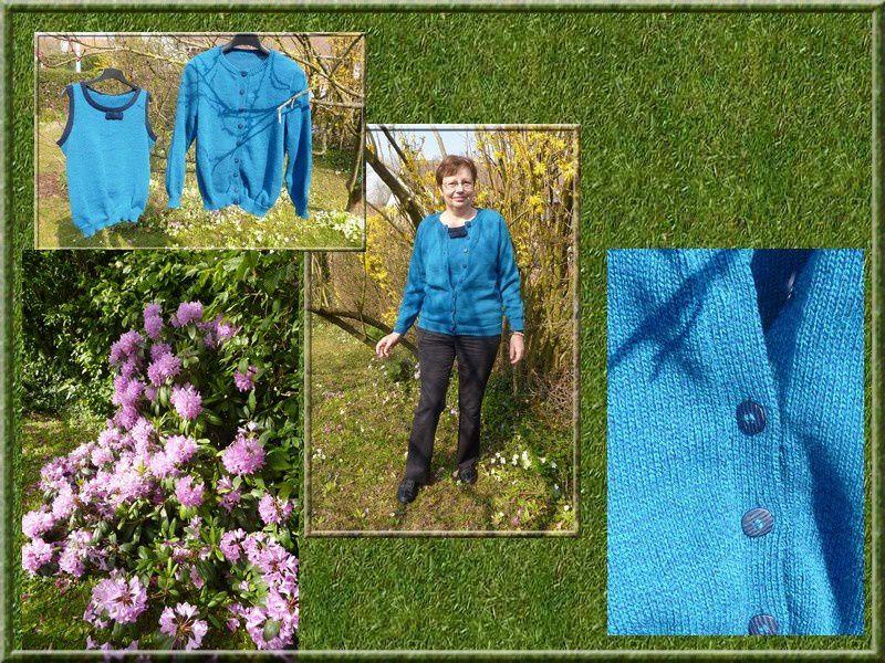 De la laine...des aiguilles...des tricots....