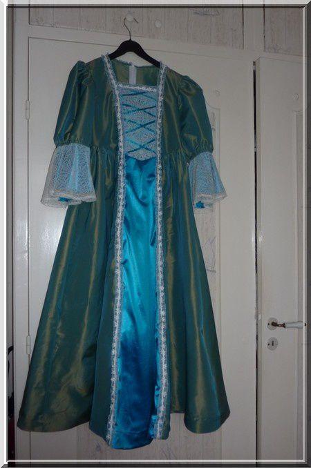 La princesse des neiges.....La robe....