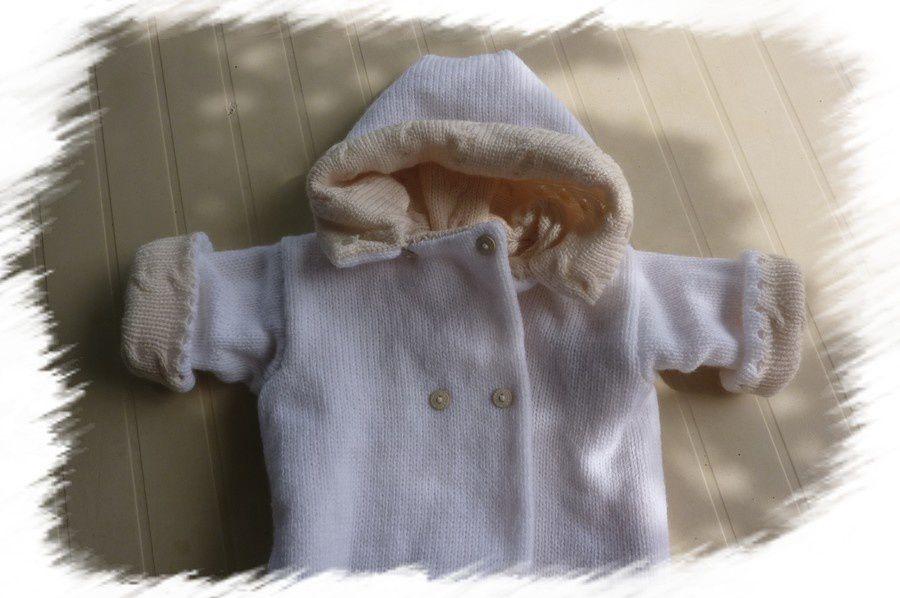 Un manteau bébé réversible...