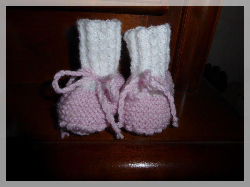 Les petits chaussons pour.....