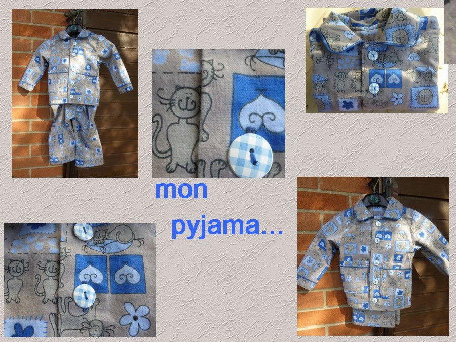 Dans la série des pyjamas...