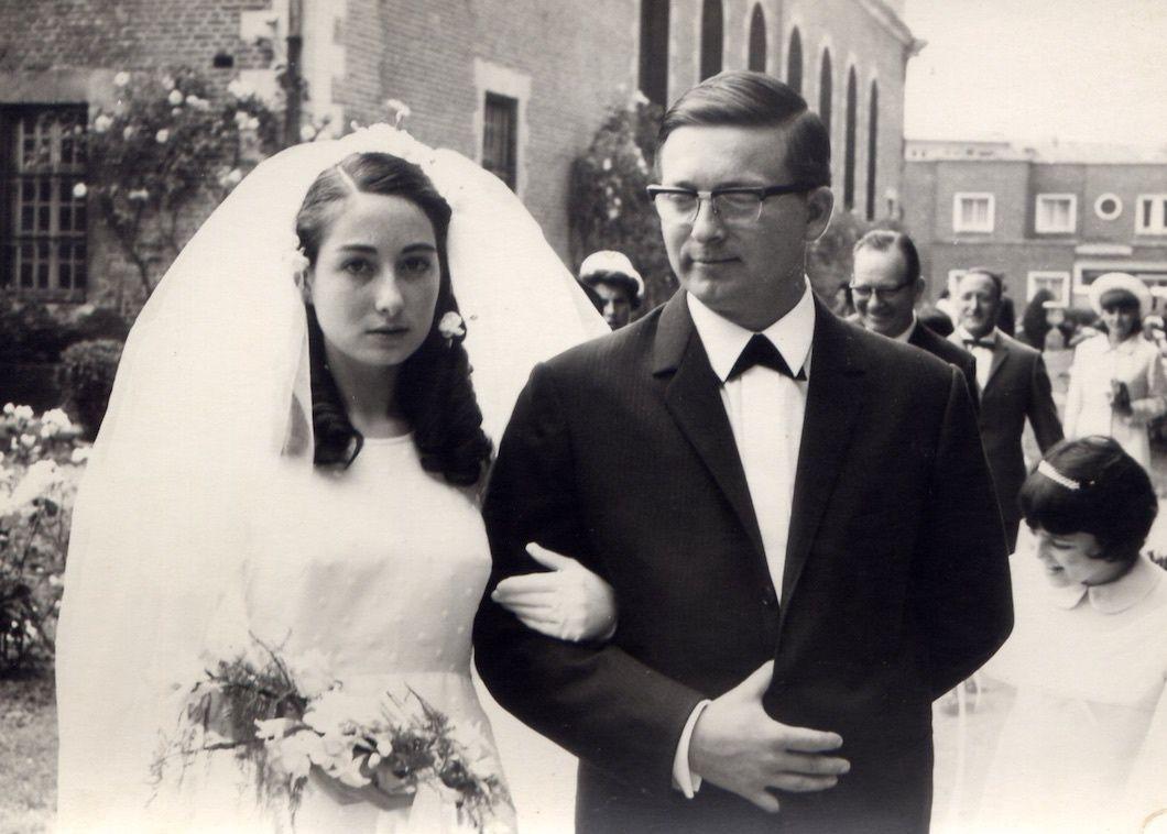 1° juillet 1967 à Le Quesnoy, Nord, agapes au chalet de l'étang au Quesnoy, 6 juillet 2003 au Revest, Annie en led déclarant son amour pour toujours