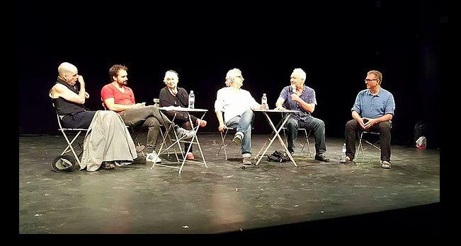 au théâtre de l'Oulle, le 17 juillet 2017, pour les 40 ans de la création de La nuit juste avant les forêts