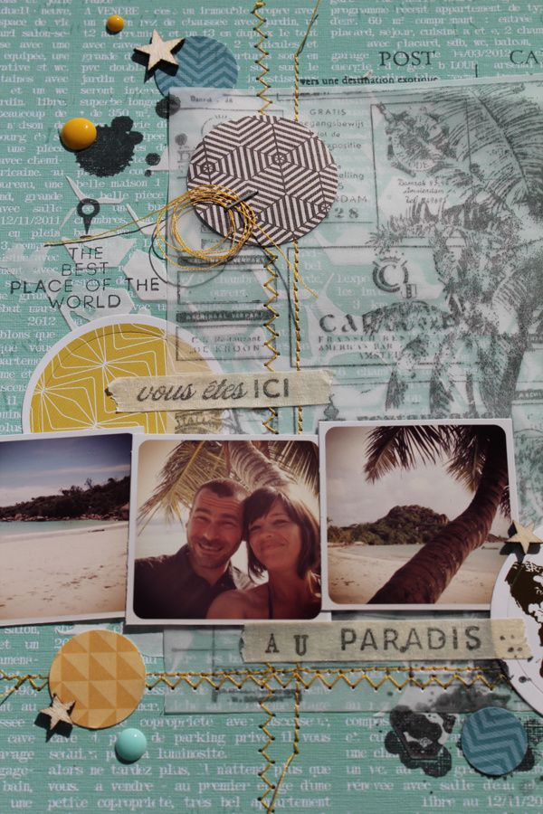 Scrapbooking Day #challenge Inspiration Création