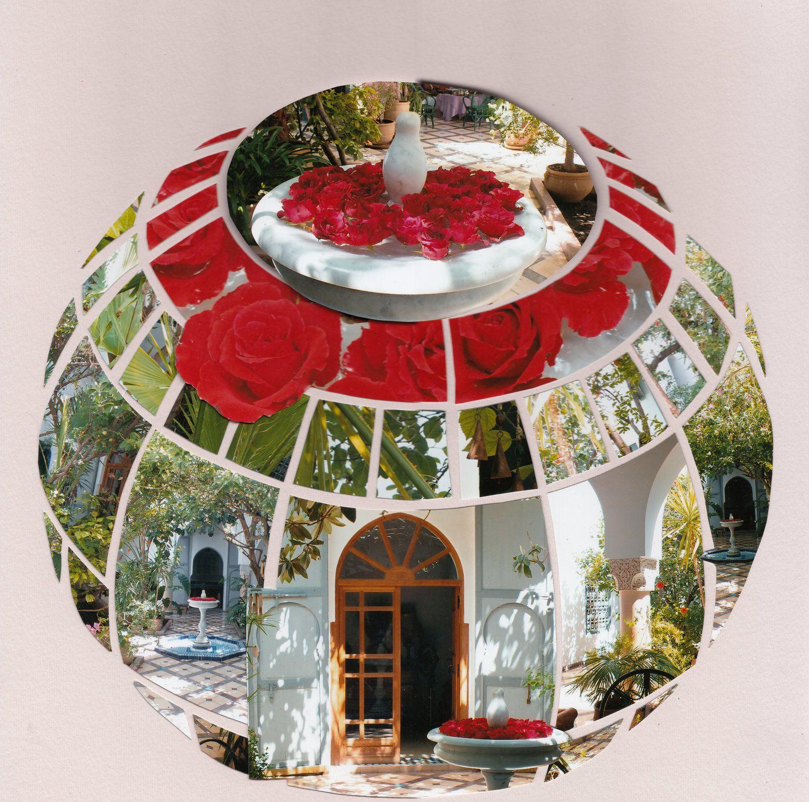 Marrakech suite, Le Riad, Gabarit Sphère