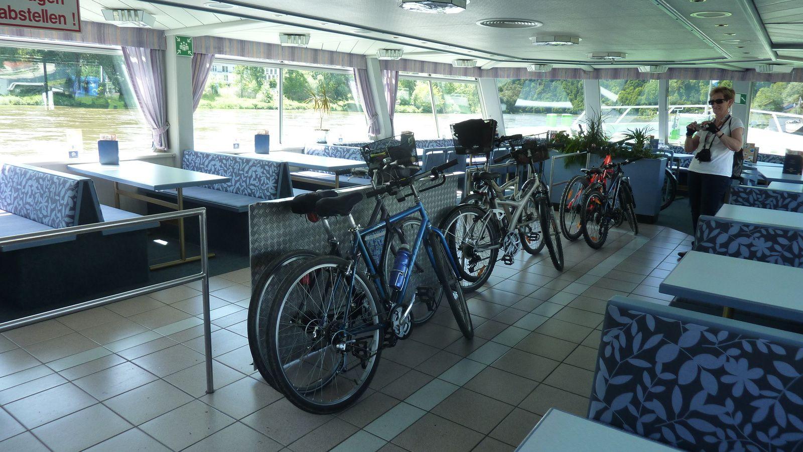 Vélos à bord