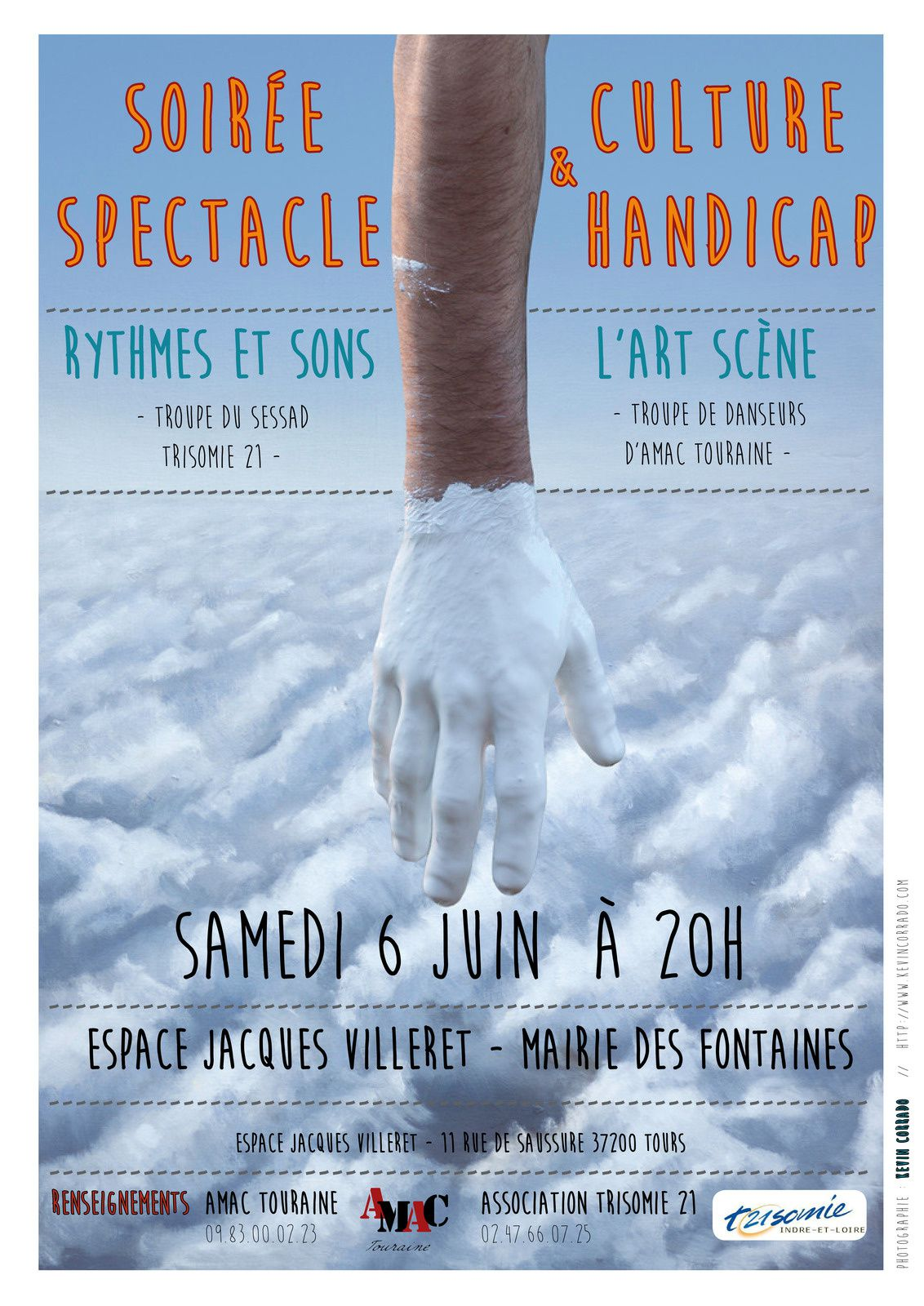 Soirée Spectacle Culture &amp&#x3B; Handicap