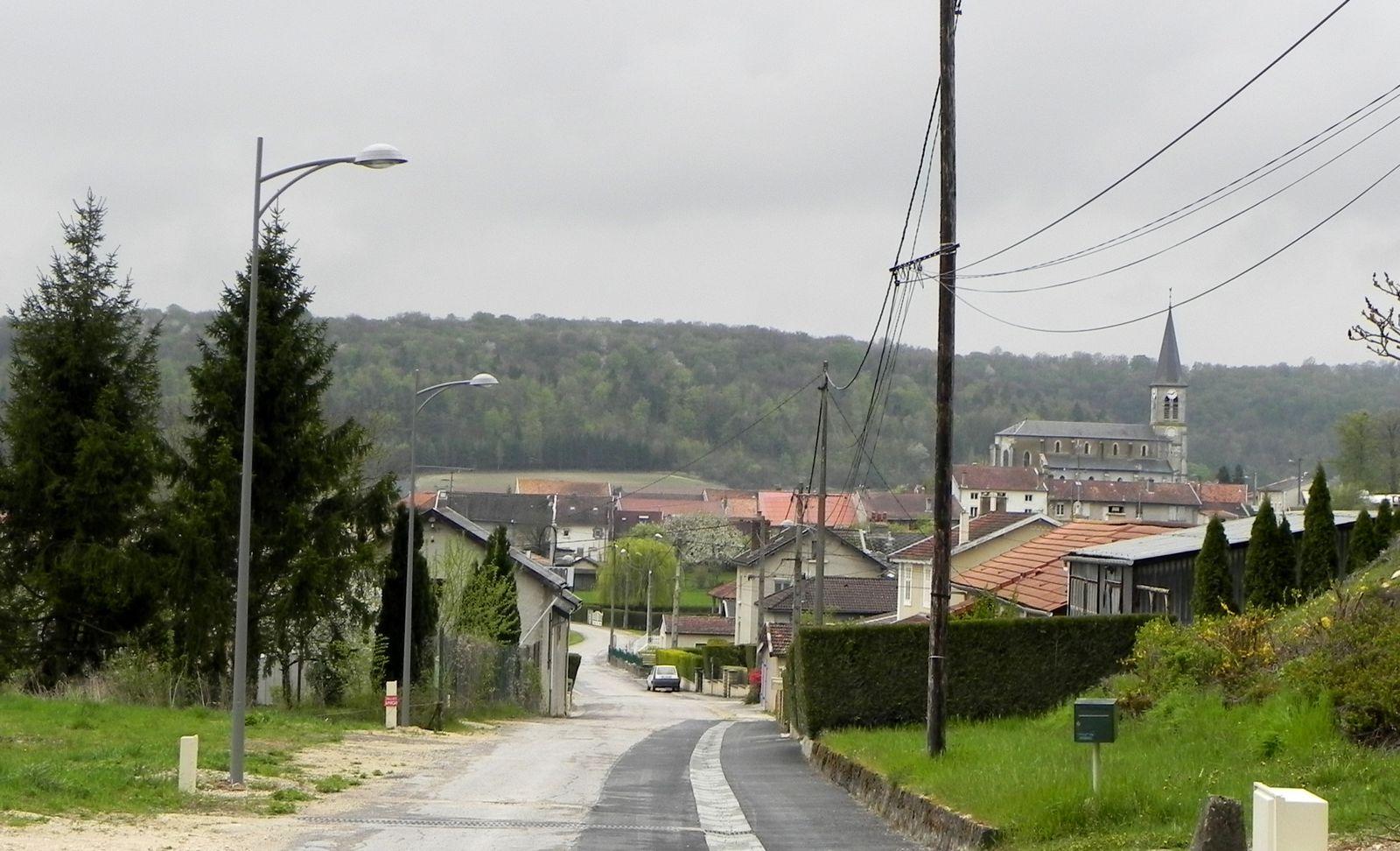 Vue d'une partie du village.
