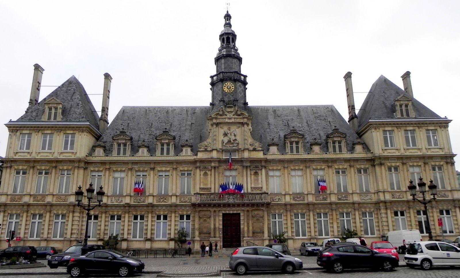 L'Hôtel de Ville de Reims