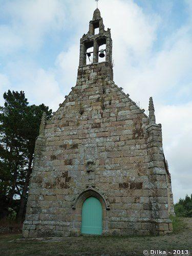 La chapelle de Saint-Uzec