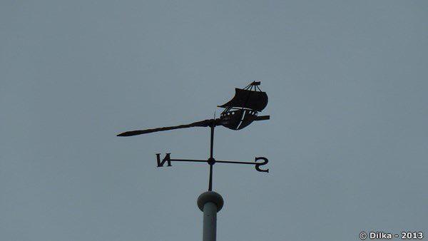 Girouette au sommet du Ferry Building