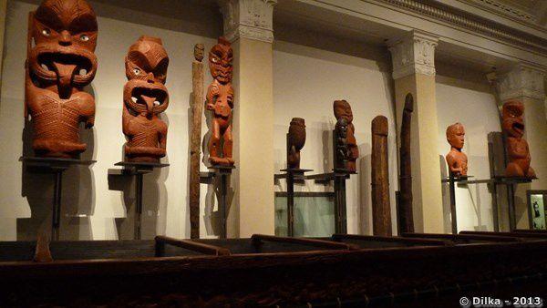 La culture maorie et polynésienne au musée d'Auckland