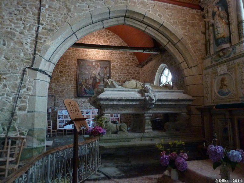 Le tombeau de Saint Gonéry