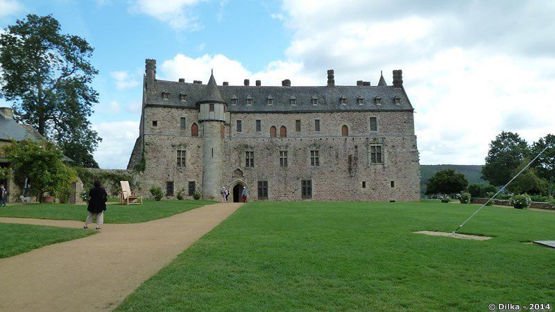 La facade du château