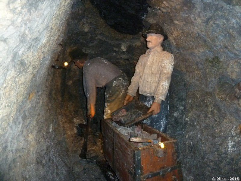 La mine de mercure d'Idrija